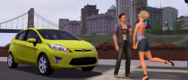 Ford Fiesta Gets into Sims 3