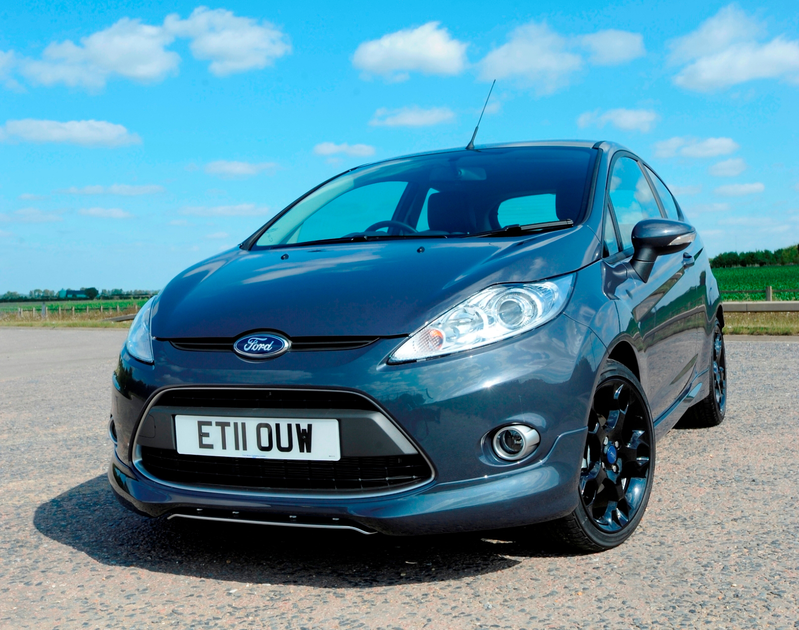 The ford fiesta range has