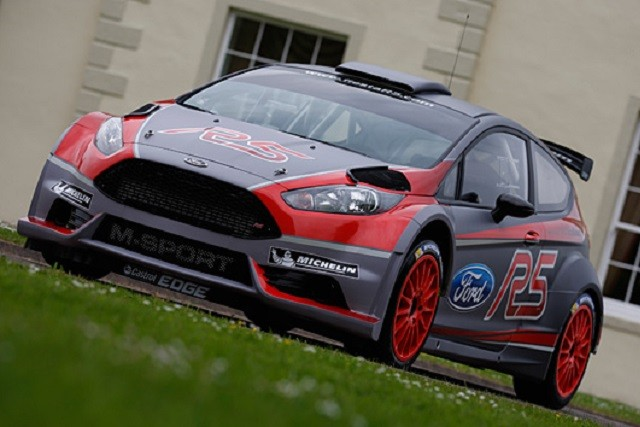 Ford fiesta r5 rally car by m sport revealed autoevolution