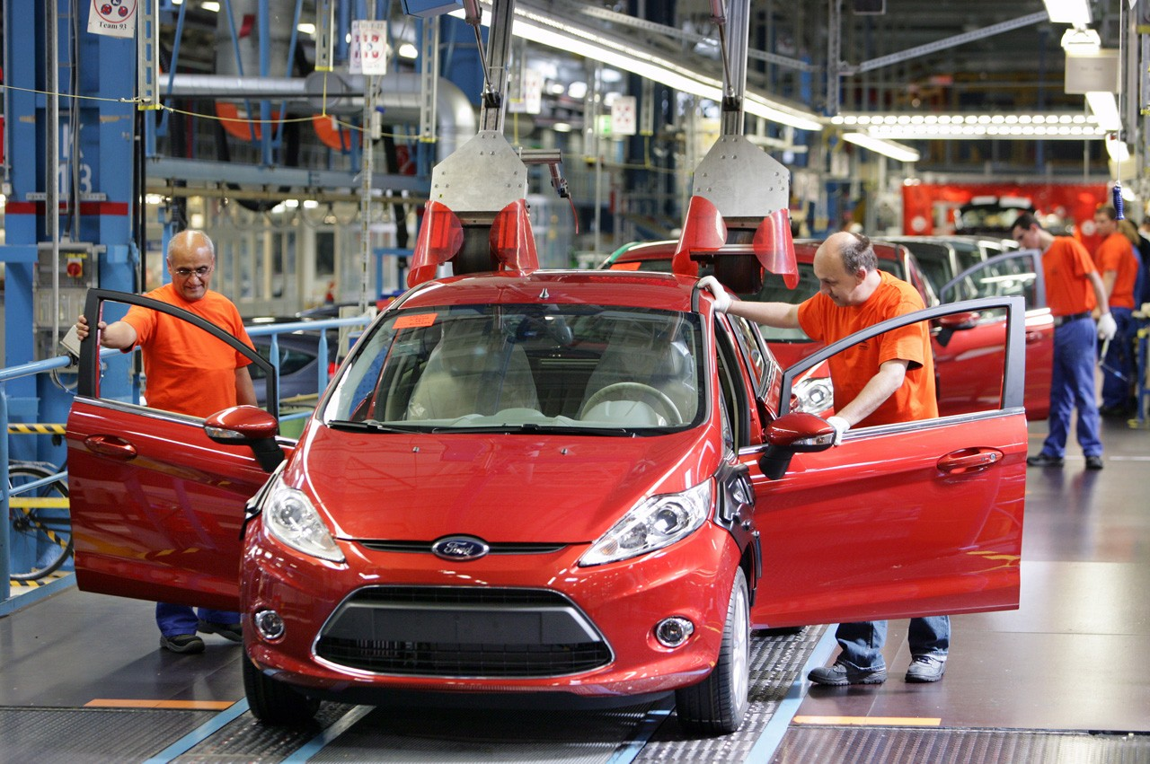 Ford has manufactured its 15 millionth Fiesta in July & Ford Fiesta Reaches 35th Birthday With 15 Million Cars Produced ... markmcfarlin.com