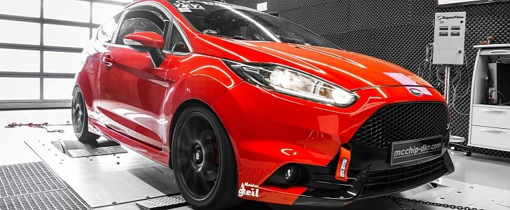 Ford Fiesta St Liter Turbo Tuned To Hp And Nm Of Torque on 3 0 Liter Ecoboost Ford Engine