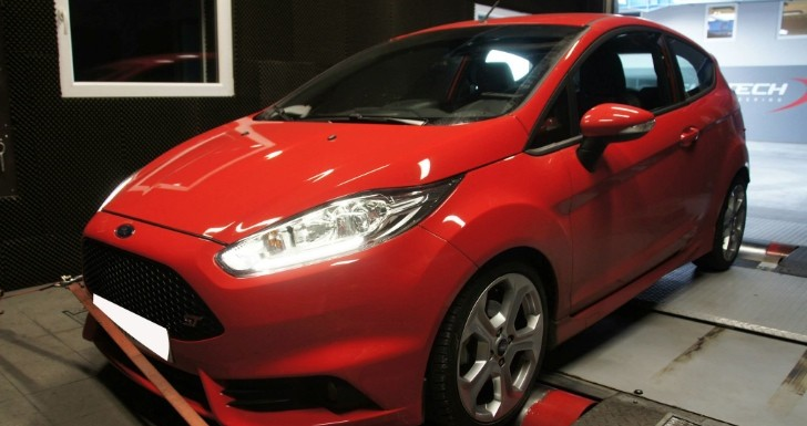 ford fiesta st tuned to 221 hp by shiftech autoevolution. Black Bedroom Furniture Sets. Home Design Ideas