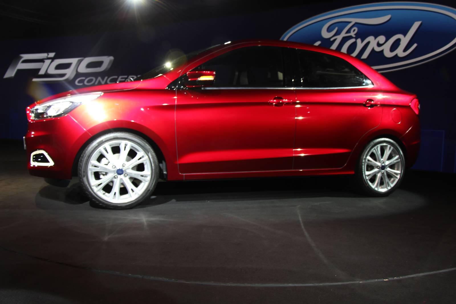 Ford Figo Sedan Concept Is the Ka with a Boot [Live Photos] - autoevolution