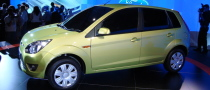 Ford Figo Unveiled in India
