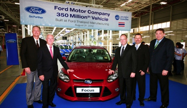 Ford Focus Becomes World's Best Selling Car