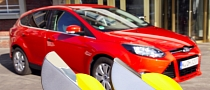 Ford Focus: First Car with Four Euro NCAP Advanced Rewards