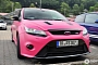 Ford Focus RS Thinks It's Cool in Pink