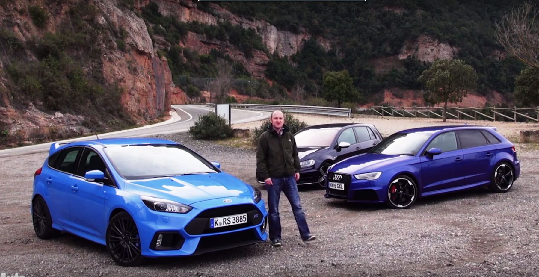 ford focus rs triumphs over audi rs3 and golf r because it 39 s the most fun hatch autoevolution. Black Bedroom Furniture Sets. Home Design Ideas