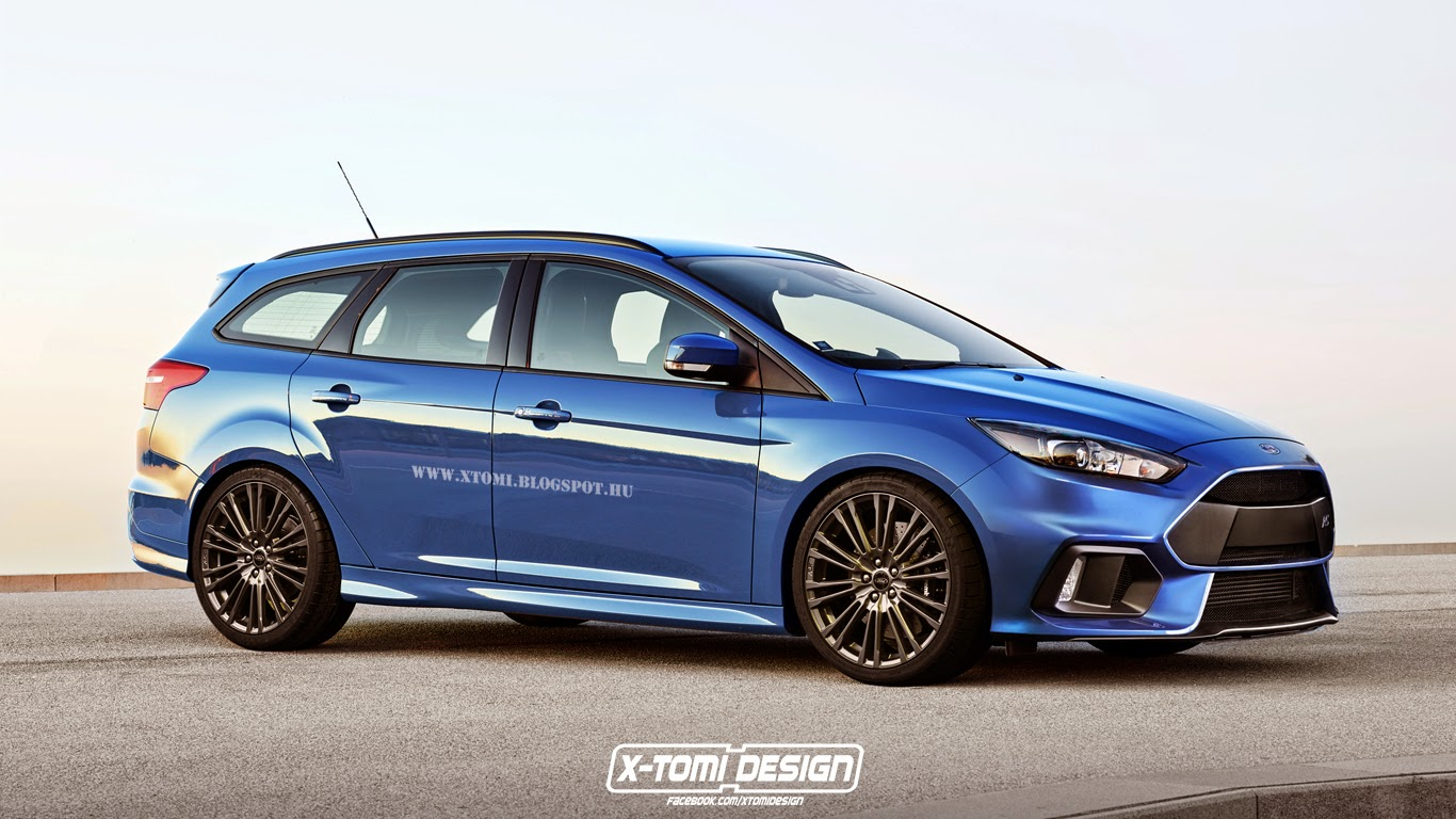 ford focus rs wagon could take on the golf r variant autoevolution. Black Bedroom Furniture Sets. Home Design Ideas