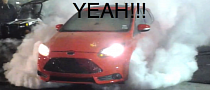 Ford Focus ST Does Huge Burnout at TX2K13 [Video]