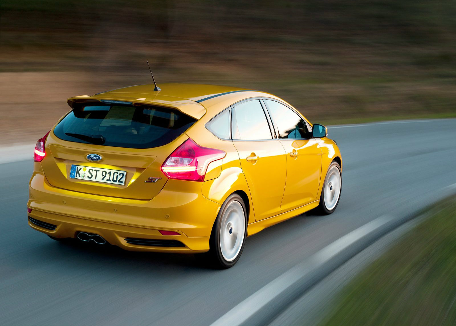 ford focus st facelift to debut at goodwood festival of speed autoevolution. Black Bedroom Furniture Sets. Home Design Ideas