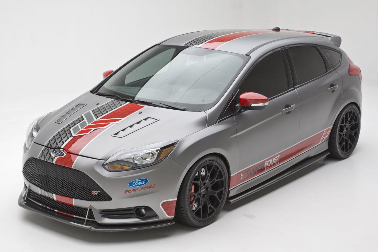 Ford Focus St Tanner Foust Edition Autoevolution 2012 Tinted Windows