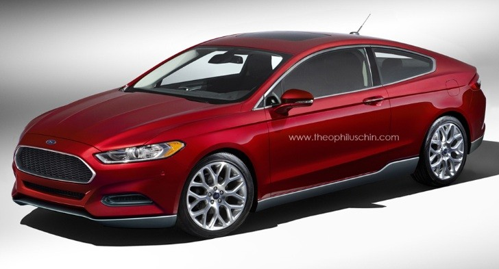 Ford Fusion / Mondeo Coupe Looks Like Evos Concept