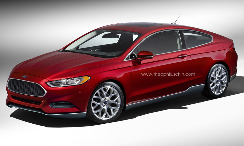 ford fusion mondeo coupe looks like evos concept autoevolution. Black Bedroom Furniture Sets. Home Design Ideas