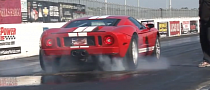 Ford GT Does a Cool Burnout [Video]