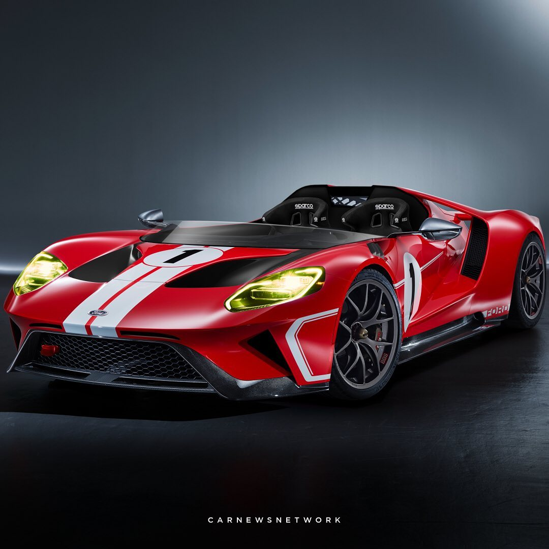 Ford GT Speedster Unofficial Concept Looks Like An Old