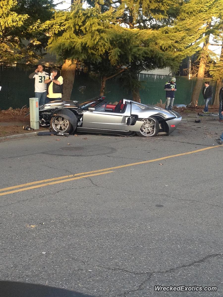Ford Gtx1 Crashed In Auburn Washington