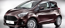Ford Ka Facelift Rendered