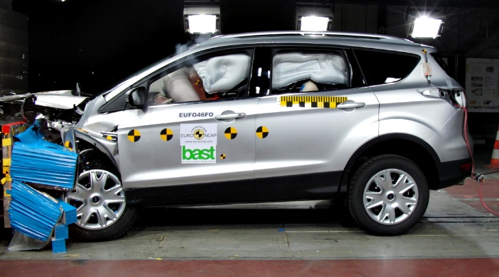 ford kuga scores top marks in euro ncap safety test autoevolution. Black Bedroom Furniture Sets. Home Design Ideas