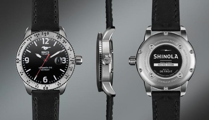 Ford Launches Mustang 50 Years Limited Edition Watch