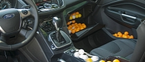 Ford Measures Escape Interior in Ping-Pong Balls