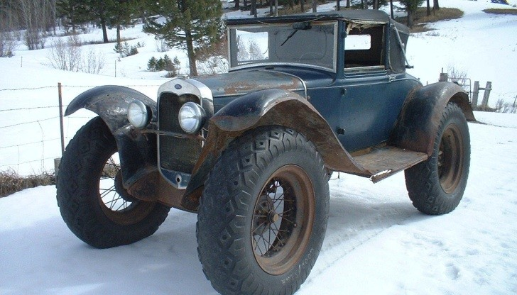 Old Junk Cars For Sale >> Ford Model A Custom Delivery Car for Sale Can Solve New York Snow Problems - autoevolution