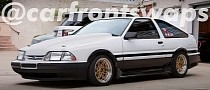Ford Mustang AE86 Is the Japanese Muscle Car