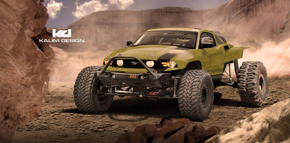 Ford Mustang Baja Racer Rendered As the Latest Jportscar ...