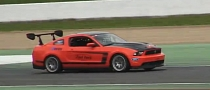Ford Mustang Boss 302S Tears Up the Track [Video]