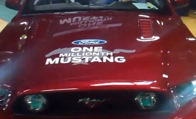 Ford Mustang Celebrates Production Milestone