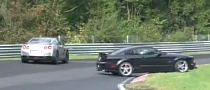 Ford Mustang Crashes on the Nurburgring [Video]