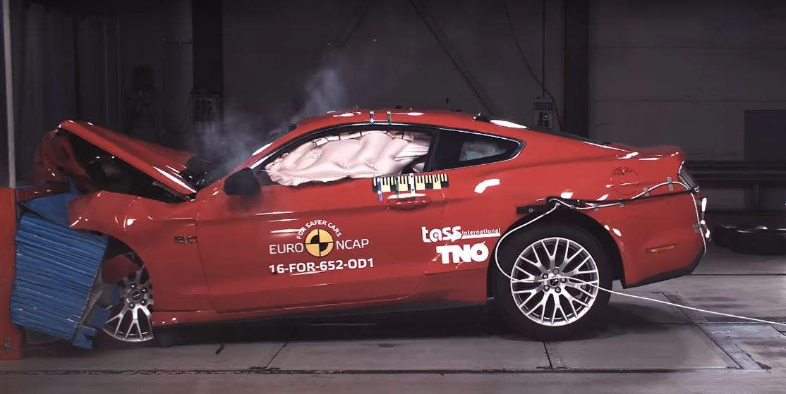 ford mustang euro ncap rating jumps to 3 stars with new safety features autoevolution. Black Bedroom Furniture Sets. Home Design Ideas