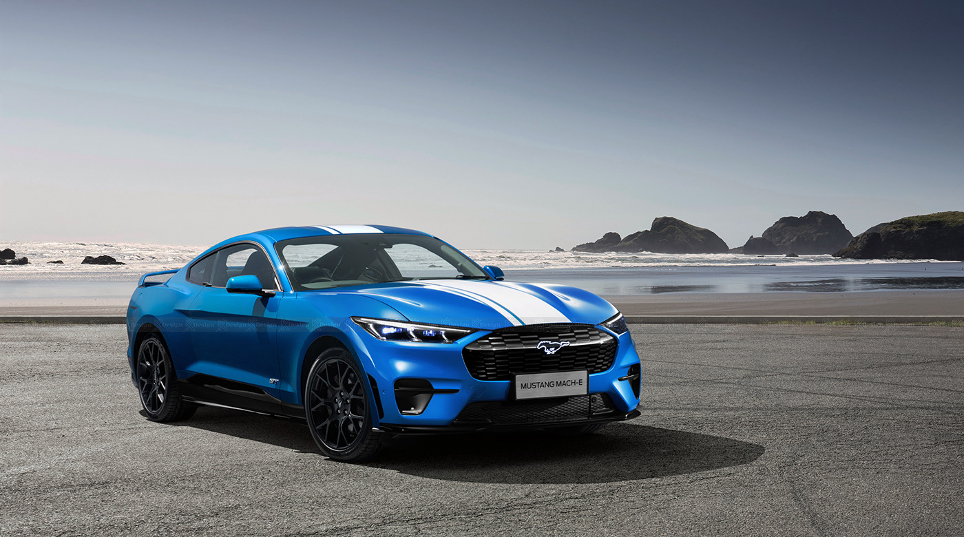 Ford Mustang GT-e Design Study Reimagines the Pony Car With Electric Muscle  - autoevolution