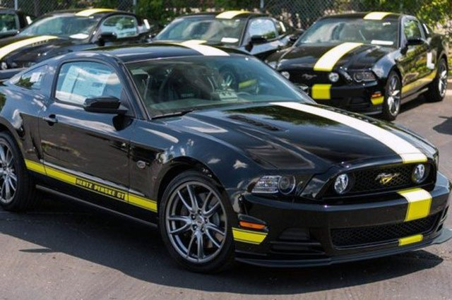Ford Mustang Hertz Penske GT Special Edition Introduced
