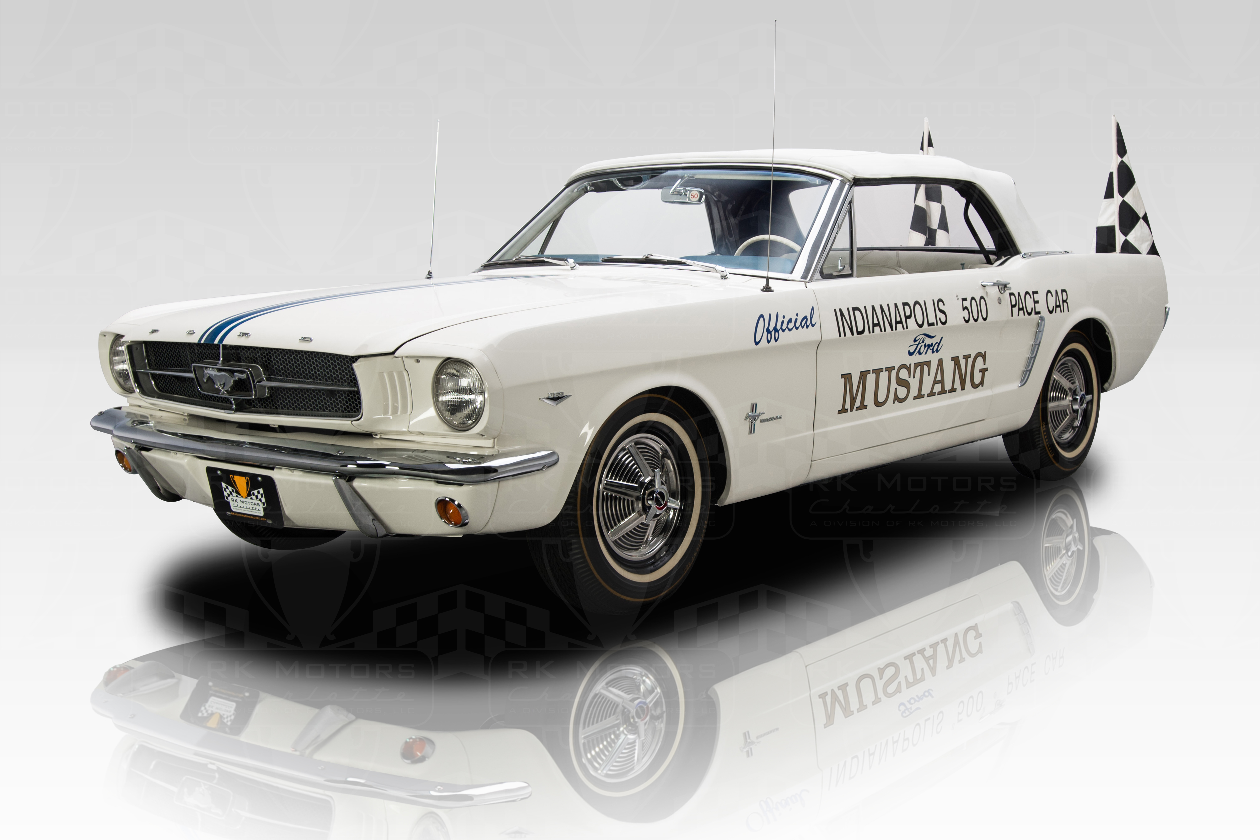 Ford Mustang Indianapolis 500 Pace Car Selling For 1 1m