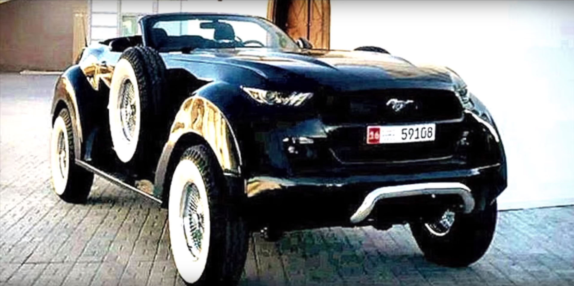 ford mustang pickup