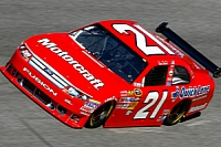 Bill Elliott's No. 21 car