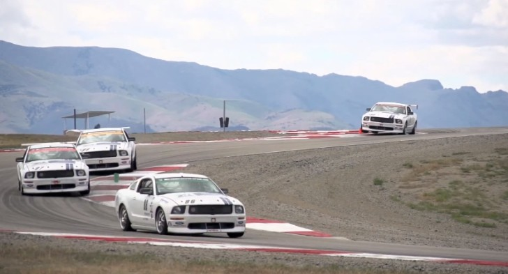 Ford NASCAR Drivers Have Some Mustang Track Fun [Video]