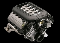Ford Mustang GT 5.0 V8 engine