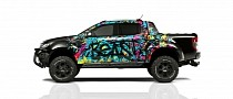 Ford Ranger Meets Delta4x4's Eye-Popping Visual Goodness