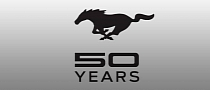 Ford Reveals Mustang 50 Years Anniversary Logo