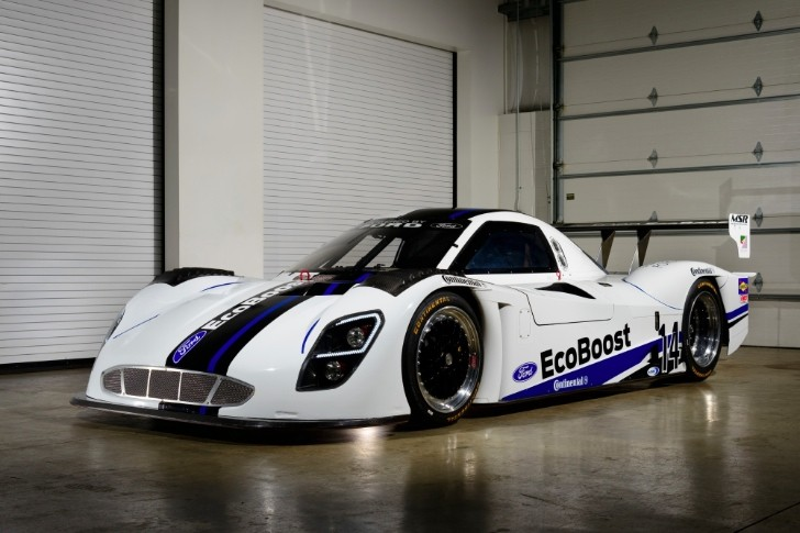 Ford Riley Prototype EcoBoost-Powered Race Car Unveiled