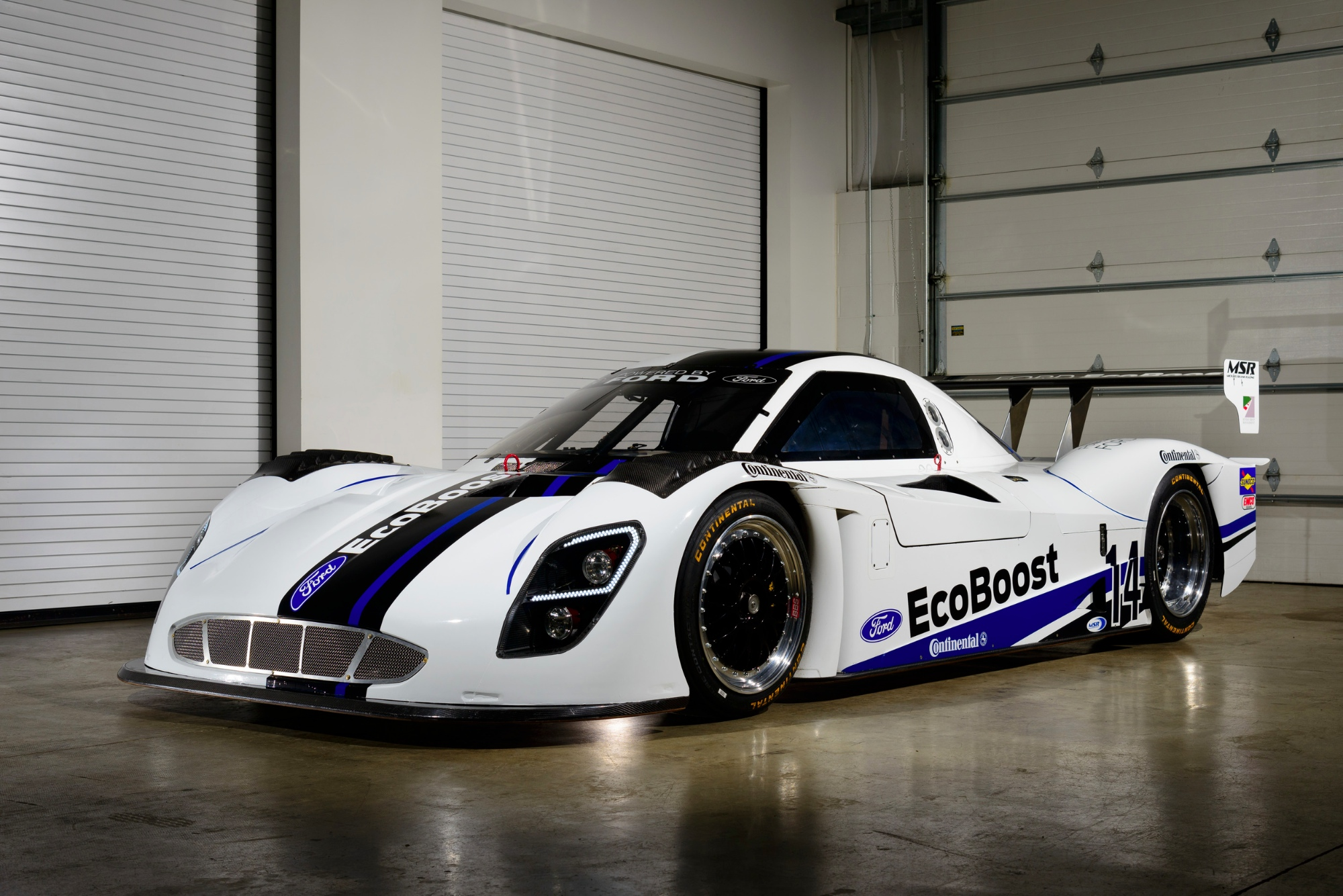 Prototype race cars