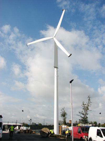 Ford S Uk Dagenham Plant To Get Third Wind Turbine Autoevolution