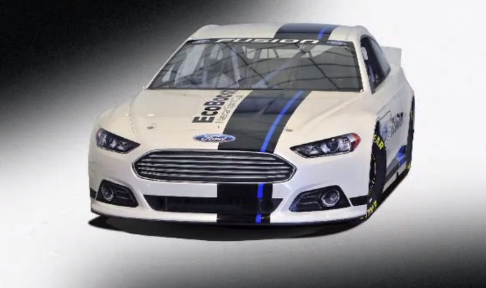 Ford Showcases New NASCAR Fusion Car [Video]
