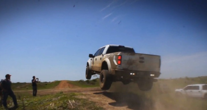 Ford SVT Raptor Truck Goes Extreme... the Texas Way [Video]