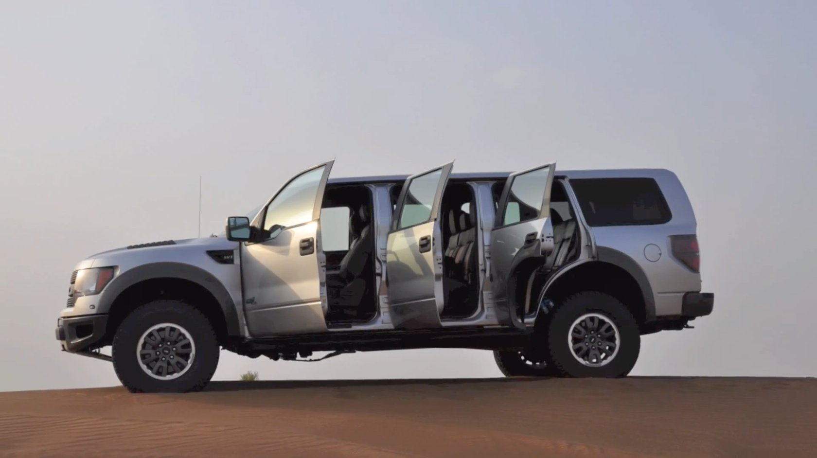 F150 Limo >> Ford SVT Raptor with Six Doors Coming Straight from the ...