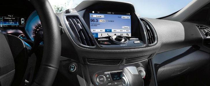 ford sync 3 infotainment to debut on the 2016 ford escape. Black Bedroom Furniture Sets. Home Design Ideas