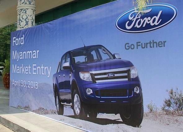 Ford to Start Selling Vehicles in Myanmar