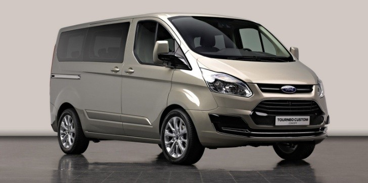 Ford Tourneo Van Concept Has Transit Body and Focus Face